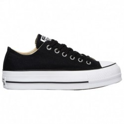 converse all star lift platform converse all star lift leather converse all star lift ox women s black white