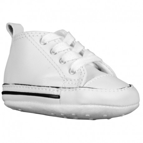 Converse First Star Hi Converse First Star - Boys' Infant White/White