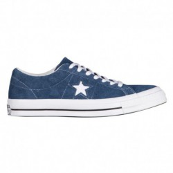 Converse Buy One Get One Converse One Star Ox - Men's Navy/White | Suede