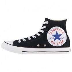 Converse All Star Red Rubber Converse All Star Hi Over Sized - Men's Black/White/Red