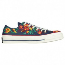 Converse Parkway Floral Chuck 70 Converse Chuck Taylor '70 Ox - Women's Obsidian | Floral Embroidery