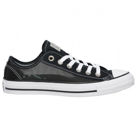 Converse All Star Leather Ox Women's Converse All Star Ox - Women's Black/White | See Thru
