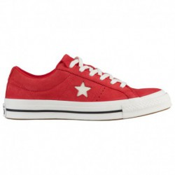 Converse One Star Nubuck Converse One Star Ox - Women's Cherry Red | Nubuck