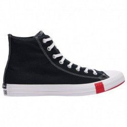 Black Red Converse All Star Converse All Star Hi - Men's Black/University Red/Amarillo