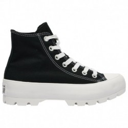 converse all star hi lugged converse all star lugged high top converse all star lugged hi women s black white black