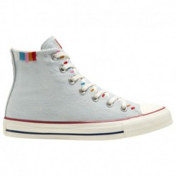 Converse Chuck Taylor Denim Converse Chuck Taylor All Star High - Women's Denim/Multi/White | 53-45316-8-02