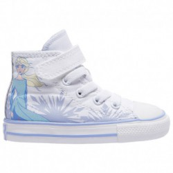 Toddler Girls Converse Chuck Taylor All Star 2v Sneakers Converse Chuck Taylor 1V Hi Frozen - Girls' Toddler Multi | 61-60767-8