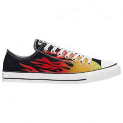 Converse Chuck Taylor Red Low Converse Chuck Taylor Low - Men's Black/Red | 41-04216 0 4