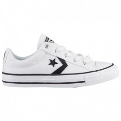 All Star Converse Shoes For Boys Converse Star Player - Boys' Grade School White/Black | 62-65372-1-04