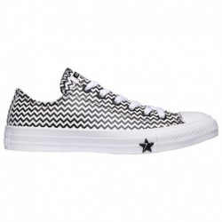 Women's Red Converse Chuck Taylor Converse Chuck Taylor All Star Mission - Women's White/Black | 53-45698-9-02