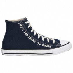 White Canvas Chuck Taylors Converse Renew Canvas Chuck Taylor All Star - Men's Navy/White | 41-00306-3-04