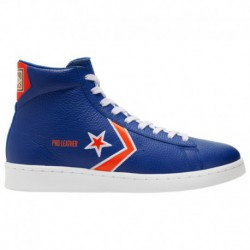 Breaking In Converse Shoes Converse Breaking Down Barriers Pro Leather - Men's Blue/Orange | 41-00300-6-04