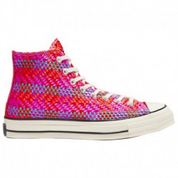 Chuck 70 High Top Pink Converse Chuck Taylor 70 High - Women's Red/Pink/Blue | 53-45313-5-02