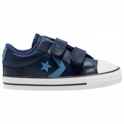 Toddler Converse Shoes Boys Converse Star Player - Boys' Toddler Obsidian/White | 61-60677-9-04