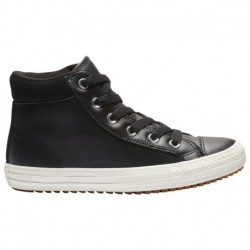 Converse Chuck Taylor Crafted Boot High Converse Chuck Taylor High Boot - Boys' Preschool Black/Brown | 64-85428-5-04