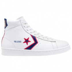 Converse Ct Fold Down Ox Converse Breaking Down Barriers Pro Leather - Men's White/Red/Blue | 41-00302-2-04