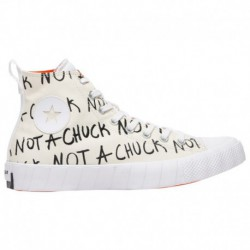 Buy Cheap High Tops Online Converse UNT1TL3D Hi - Men's White/Black/Orange | 41-06614-4-04