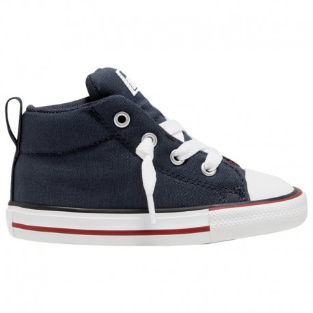 Navy Blue Converse Chuck Taylor Converse Chuck Taylor All Star Varsity - Boys' Toddler Navy/White/Red | 61-60793-4-04