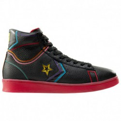 New Converse Leather Shoes Converse Chinese New Year Pro Leather - Men's Black/Multi | 41-00621-5-04