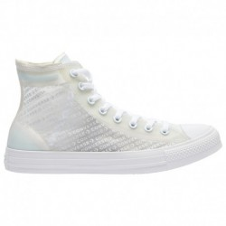 Converse All Star All White Converse All Star Hi - Men's White/White/White | Translucent