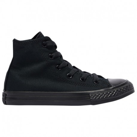 Converse All Star Black Monochrome Converse All Star Hi - Boys' Preschool Black Monochrome/White