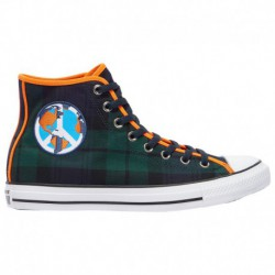 Converse All Star Brown Converse All Star Hi - Men's Green/Brown/White