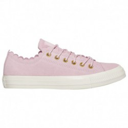 Converse All Star Frilly Thrills Converse All Star Ox - Women's Pink Foam | Frilly Thrills Suede