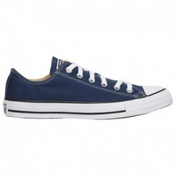 Converse All Star White Canvas Converse All Star Ox - Men's Navy/White | Canvas