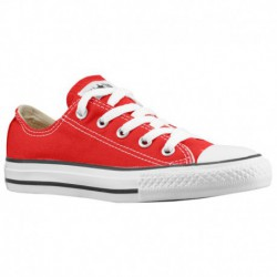 All Red Converse All Star Converse All Star Ox - Boys' Preschool Red/Red