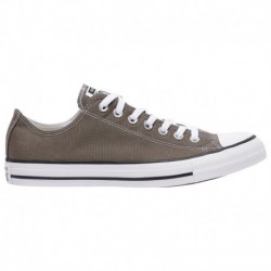 Converse All Star Charcoal Converse All Star Ox - Men's Charcoal/White | Canvas
