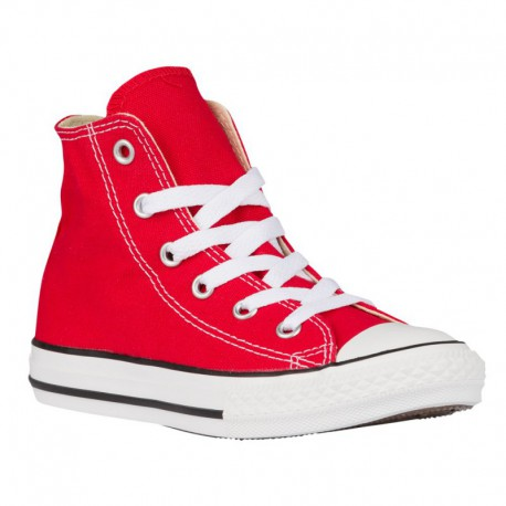 Converse All Star Rubber Red Converse All Star Hi - Boys' Preschool Red/Red
