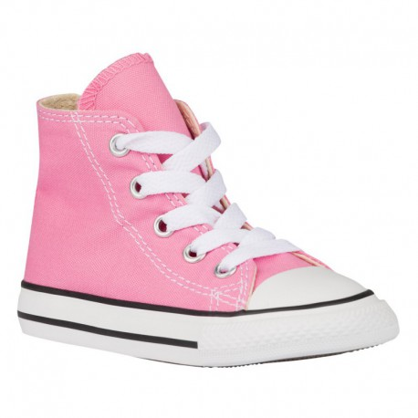 Converse All Star Shoes Pink Converse All Star Hi - Girls' Toddler Pink/Pink