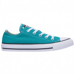 Converse All Star Dark Green Converse All Star Ox - Boys' Preschool Turbo Green/White