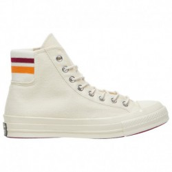 Converse 70 Chuck Taylor Converse Chuck Taylor '70 Hi - Women's White/Red/Orange | Striped