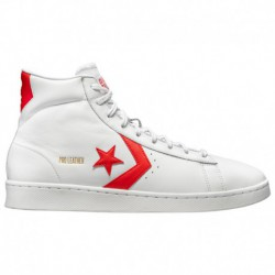 converse pro leather mid red converse pro leather mid converse pro leather mid men s white red then now