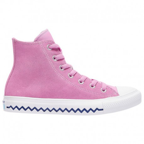 Where Can You Buy All Star Converse Shoes Converse All Star Hi - Women's Peony Pink/University Red/rapid Teal   Voltage